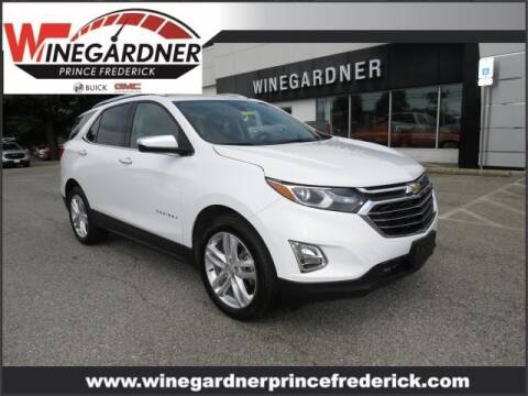 2020 Chevrolet Equinox for sale at Winegardner Auto Sales in Prince Frederick MD