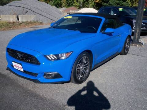 2017 Ford Mustang for sale at Charlies Auto Village in Pelham NH