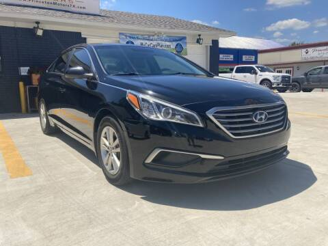 2016 Hyundai Sonata for sale at Princeton Motors in Princeton TX