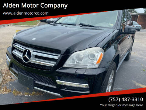 2011 Mercedes-Benz GL-Class for sale at Aiden Motor Company in Portsmouth VA
