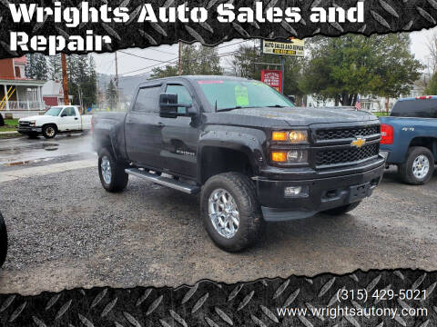 2014 Chevrolet Silverado 1500 for sale at Wrights Auto Sales and Repair in Dolgeville NY