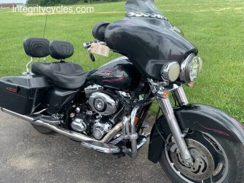 2007 Harley-Davidson Street Glide for sale at INTEGRITY CYCLES LLC in Columbus OH