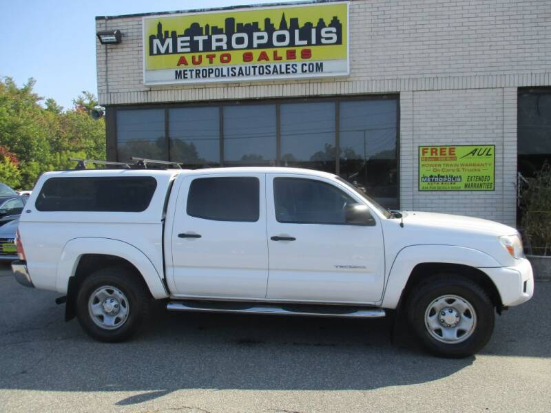 2015 Toyota Tacoma for sale at Metropolis Auto Sales in Pelham NH