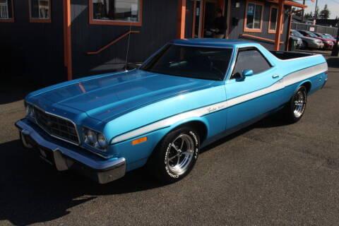 1973 Ford Ranchero for sale at Sabeti Motors in Tacoma WA
