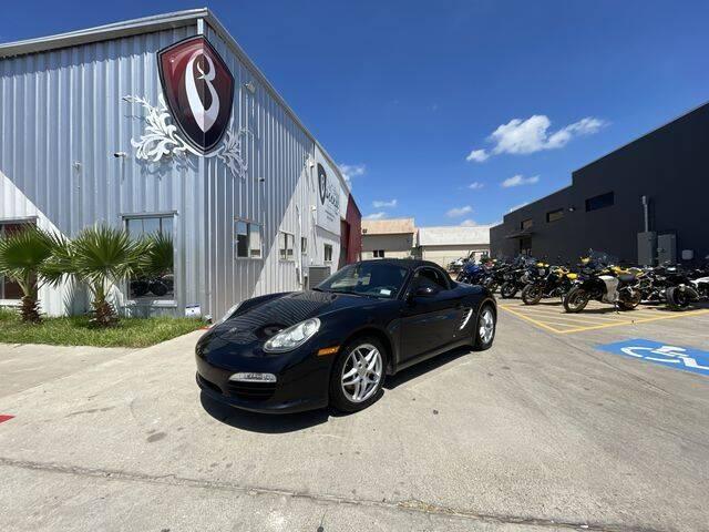 2009 Porsche Boxster for sale at Barrett Auto Gallery in San Juan TX