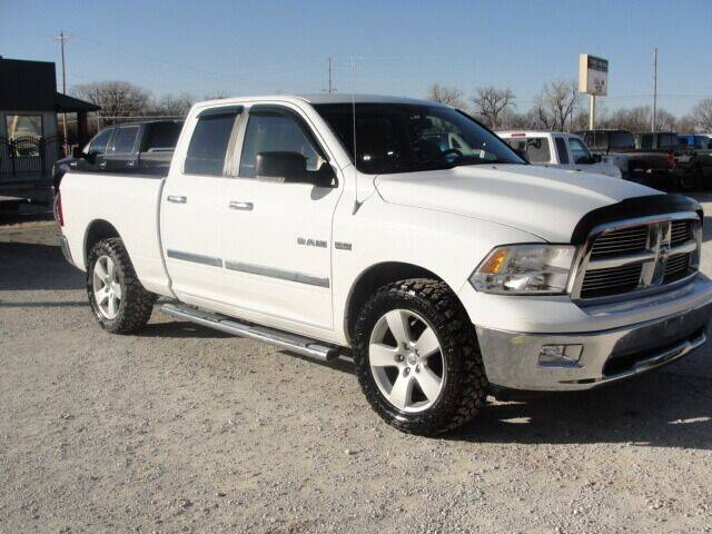 2010 Dodge Ram Pickup 1500 for sale at Frieling Auto Sales in Manhattan KS