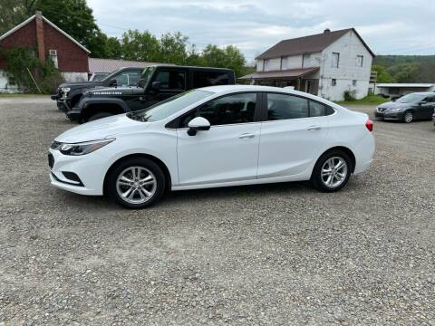 2018 Chevrolet Cruze for sale at Brush & Palette Auto in Candor NY