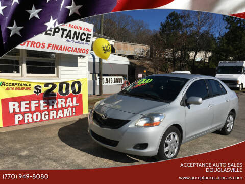 2009 Toyota Yaris for sale at Acceptance Auto Sales Douglasville in Douglasville GA