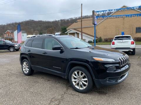 2015 Jeep Cherokee for sale at MYERS PRE OWNED AUTOS & POWERSPORTS in Paden City WV