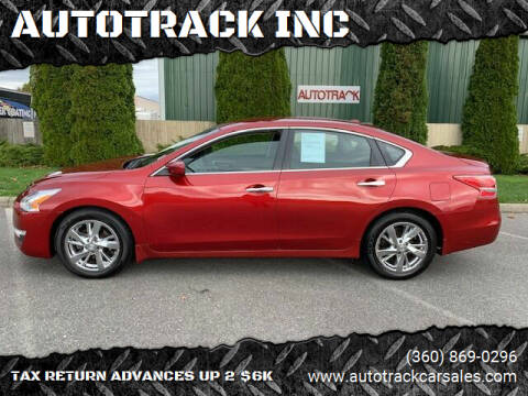 2013 Nissan Altima for sale at AUTOTRACK INC in Mount Vernon WA