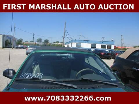 2001 Ford Mustang for sale at First Marshall Auto Auction in Harvey IL