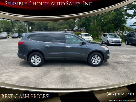 2009 Chevrolet Traverse for sale at Sensible Choice Auto Sales, Inc. in Longwood FL