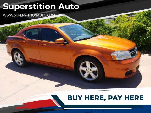 2011 Dodge Avenger for sale at Superstition Auto in Mesa AZ