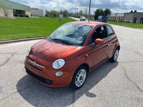 2013 FIAT 500 for sale at JE Autoworks LLC in Willoughby OH