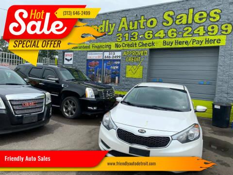 2014 Kia Forte for sale at Friendly Auto Sales in Detroit MI
