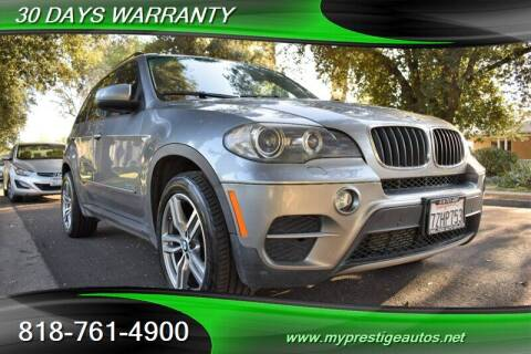 2011 BMW X5 for sale at Prestige Auto Sports Inc in North Hollywood CA
