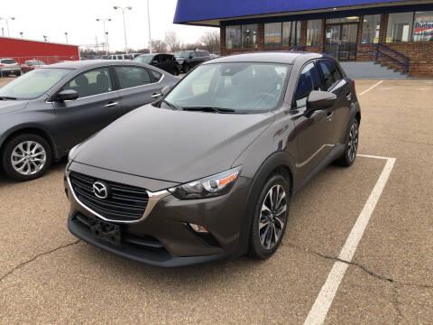 2019 Mazda CX-3 for sale at BUDGET CAR SALES in Amarillo TX