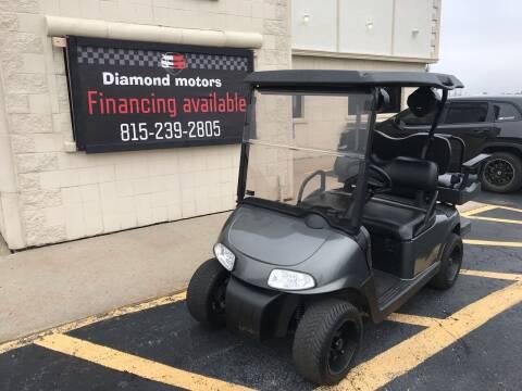 2010 EZ-GO RXV for sale at Diamond Motors in Pecatonica IL