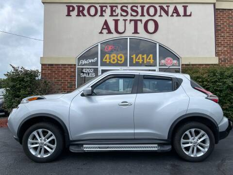 2016 Nissan JUKE for sale at Professional Auto Sales & Service in Fort Wayne IN