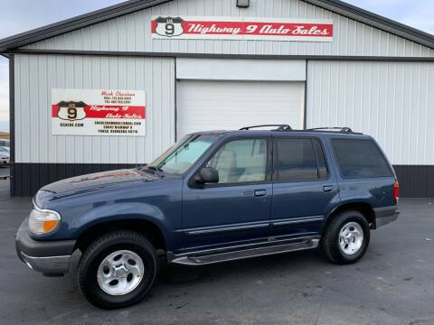 2000 Ford Explorer for sale at Highway 9 Auto Sales - Visit us at usnine.com in Ponca NE