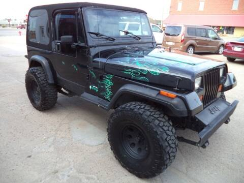 1991 Jeep Wrangler for sale at Apex Auto Sales in Coldwater KS