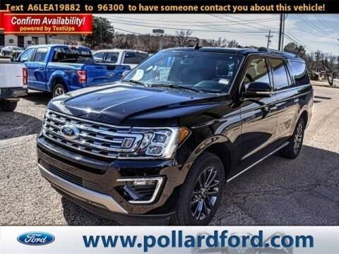 2020 Ford Expedition MAX for sale at South Plains Autoplex by RANDY BUCHANAN in Lubbock TX