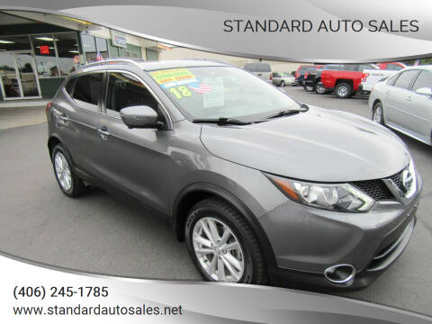 2018 Nissan Rogue Sport for sale at Standard Auto Sales in Billings MT