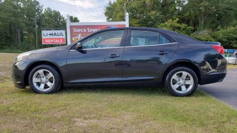 2013 Chevrolet Malibu for sale at Super Sport Auto Sales in Hope Mills NC