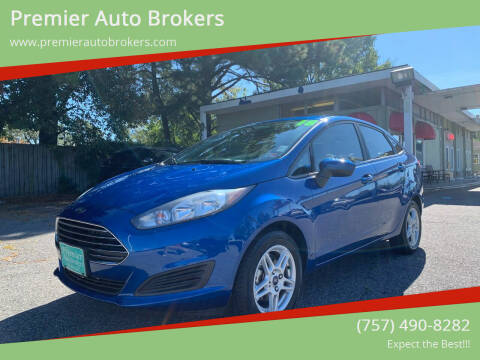 2018 Ford Fiesta for sale at Premier Auto Brokers in Virginia Beach VA