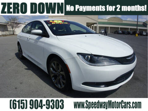 2015 Chrysler 200 for sale at Speedway Motors in Murfreesboro TN