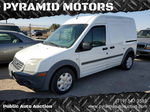 2011 Ford Transit Connect for sale at PYRAMID MOTORS - Fountain Lot in Fountain CO