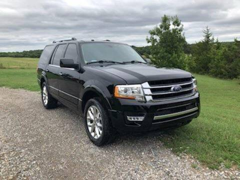 2017 Ford Expedition for sale at CAVENDER MOTORS in Van Alstyne TX