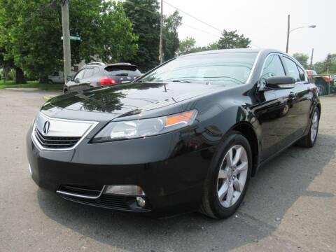 2014 Acura TL for sale at PRESTIGE IMPORT AUTO SALES in Morrisville PA