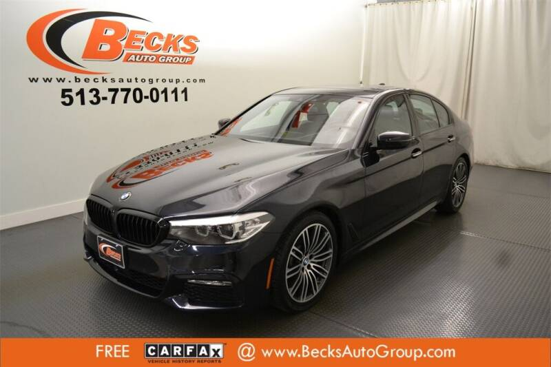 2018 BMW 5 Series for sale at Becks Auto Group in Mason OH