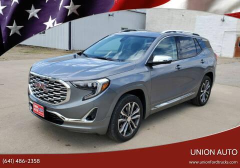 2020 GMC Terrain for sale at Union Auto in Union IA