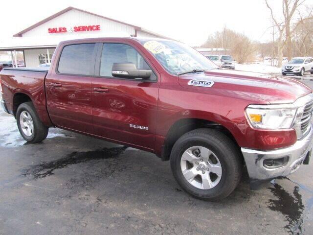 2021 RAM Ram Pickup 1500 for sale at Thompson Motors LLC in Attica NY