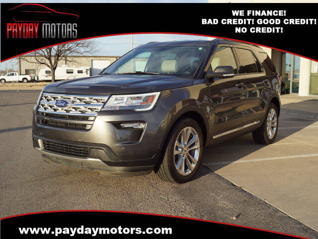 2019 Ford Explorer for sale at Payday Motors in Wichita KS