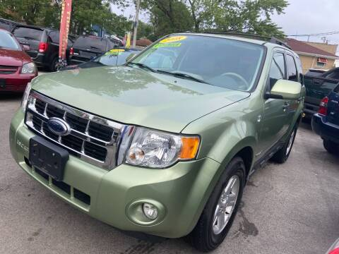 2008 Ford Escape Hybrid for sale at Global Auto Finance & Lease INC in Maywood IL