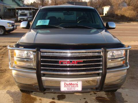 2000 GMC Sierra 1500 for sale at DeMers Auto Sales in Winner SD
