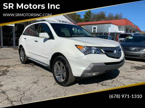 2007 Acura MDX for sale at SR Motors Inc in Gainesville GA
