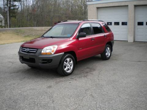 2007 Kia Sportage for sale at Route 111 Auto Sales in Hampstead NH