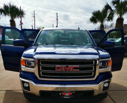 2014 GMC Sierra 1500 for sale at Car Ex Auto Sales in Houston TX