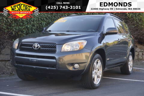 2007 Toyota RAV4 for sale at West Coast Auto Works in Edmonds WA