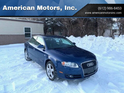 2005 Audi A4 for sale at American Motors, Inc. in Farmington MN
