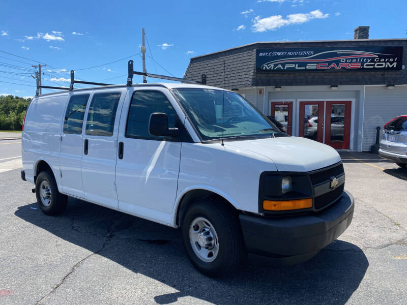 2017 Chevrolet Express Cargo for sale at Maple Street Auto Center in Marlborough MA