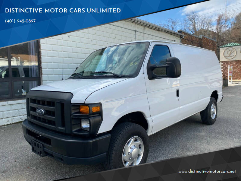 2010 Ford E-Series Cargo for sale at DISTINCTIVE MOTOR CARS UNLIMITED in Johnston RI