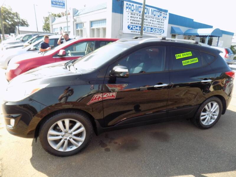 2012 Hyundai Tucson for sale at Pro-Motion Motor Co in Lincolnton NC