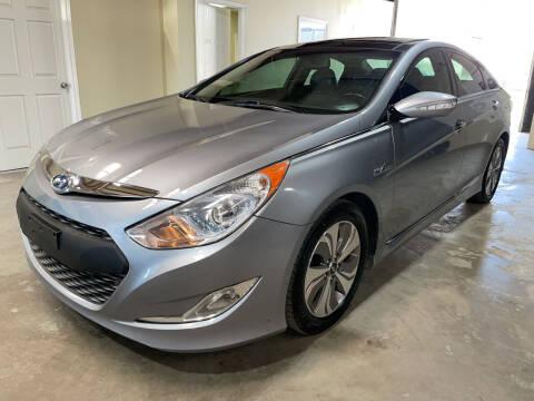 2015 Hyundai Sonata Hybrid for sale at Safe Trip Auto Sales in Dallas TX