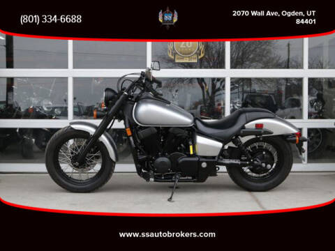 2016 Honda VT750 Shadow Phantom for sale at S S Auto Brokers in Ogden UT