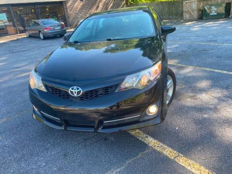 2014 Toyota Camry for sale at BRAVA AUTO BROKERS LLC in Clarkston GA